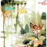 "Papier do scrapbookingu ""Magic whispers of fairytales""- sheet 1 - 30x30"
