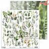"""Elementy do wycinania """"Leafy paradise"""" -arkusz 12'x12'"""