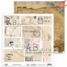 "Papier do scrapbookingu  - ""Vintage things"" 12'x12'"