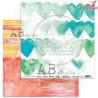 """""""Over the rainbow"""" - zestaw papierów 8x 30x30 + bonus page"""