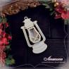 00023 Shaker box Lampa naftowa