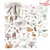 """Zestaw Papierów ZoJu Design """"Forest Dream"""" 30,5x30,5 cm"""