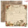 Dwustronny papier FLOWERS STORY/01 ScrapBoys 30x30cm