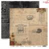 Dwustronny papier FLOWERS STORY/04 ScrapBoys 30x30cm