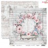 Dwustronny papier DREAM GARDEN/03 ScrapBoys 30x30cm