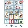 Zestaw papierów A4   ''Wonderful christmas time''SCRAP-051
