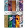 "Papier do scrapbookingu A-4  ''Gemstones""SCRAP-053"