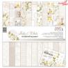 Zestaw papierów - Holy & White - 30,5 cm x 30,5 cm - Laserowe LOVE