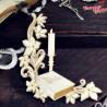 00449 Tekturka 2D Biblia i świeca