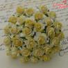 Kwiaty Róże 2 tone Yellow15mm 10szt /06