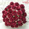 Kwiat Róża Burgund 10 szt. 10mm /40