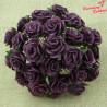 Kwiat Róża Plum 10 szt. 10mm  /42