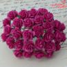 Kwiaty Róża 25mm Deep Pink10szt. /50
