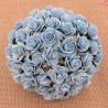 Kwiaty Róża 25mm Niebieski10szt. /51