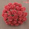 Kwiaty Róża 25mm Koral 10szt.   /68