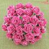 Kwiaty Róże 15mm Pink 10szt.  /75
