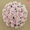 Kwiaty Róża 25mm Delikatny różowy10szt.  /77