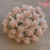 Kwiaty Róża 25mm Jasno-brzoskwiniowa 10szt.  /78
