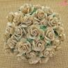 Kwiaty Róża 25mm Dove Grey 10szt.  /87