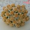 Kwiaty Róże 15mm Autumn Gold 10szt /84