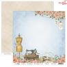 Dwustronny papier SEWING LOVE /01 ScrapBoys 30x30cm