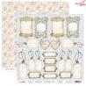 Dwustronny papier SEWING LOVE /06 ScrapBoys 30x30cm
