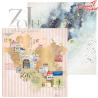 "Papier  ""Beautiful Journey "" 06/30x30cm/ZoJu Design"