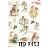 Papier ryżowy ITD R0453