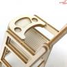 1474 Tekturka - Krzesełko dziecięce 3D