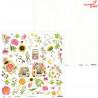 "Papier The Four Seasons - Summer 07, 12x12"" 30x30cm/Piątek Trzynastego"