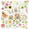 """Bloczek papierów The Four Seasons - Summer, 12x12"""" 30x30cm/Piątek Trzynastego"""