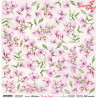 Blooming Magnolia Flowers - arkusz do wycinania/ScrapAndMe