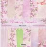 Zestaw papierów Blooming Magnolia 30x30/ScrapAndMe
