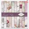 Zestaw do scrapbookingu 30x30 cm SLS-002 ''French Chic""