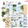 Zestaw papierów Summer Breeze/08/ ScrapBoys/ 30x30cm