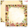 Dwustronny papier -  Sunny Village 02/ Scrapboys/ 30x30cm