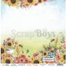 Dwustronny papier -  Sunny Village 01/ Scrapboys/ 30x30cm