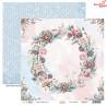 Dwustronny papier -  Cotton Winter 03/ Scrapboys/ 30x30cm