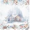Dwustronny papier -  Cotton Winter 01/ Scrapboys/ 30x30cm