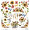 Dwustronny papier z elementami do wycinania -  Sunny Village 07/ Scrapboys/ 30x30cm