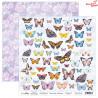 Papier z elementami do wycinania -  Butterfly Meadow 07/ Scrapboys/ 30x30cm