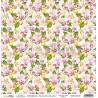 Dwustronny papier  -  Butterfly Meadow 02/ Scrapboys/ 30x30cm