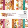 Zestaw papierów The Four Seasons - Autumn 15x15cm- Piątek Trzynastego
