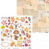 Papier 30x30 - The Four Seasons - Autumn 07 Piątek Trzynastego