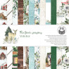 Zestaw papierów 15x15  - The Four Seasons - Winter/Piątek Trzynastego
