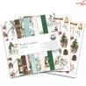 Zestaw papierów 30x30cm  - The Four Seasons - Winter/Piątek Trzynastego