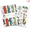 Zestaw papierów 15x20cm  - The Four Seasons - Winter/Piątek Trzynastego