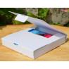 Czekoladownik koperta 3D mini białe Ritter GoatBox