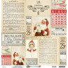 Dwustronny papier Merry & Bright 04/ 30x30 - Mintay papers
