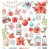 Dwustronny papier z elementami Christmas Stories 09 /30x30 cm/ MT-CHS-09/Mintay papers